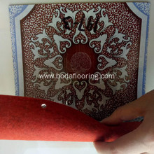 red pvc flooring roll price